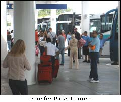 Cancun Airport Bus Zone