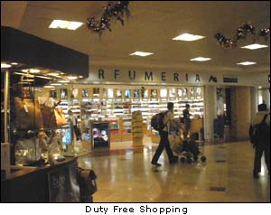 Cancun Airport Duty Free Shops