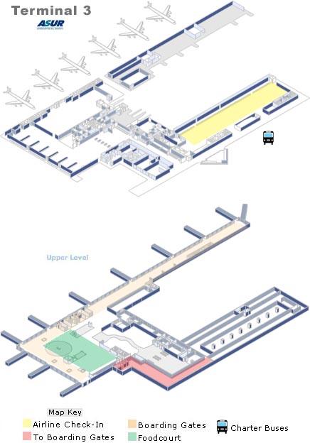 Cancun Airport Terminal 3 Departures