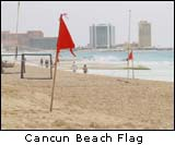 Cancun Beach Flag