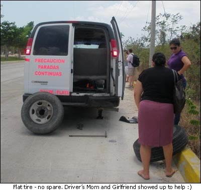 Colectivo Flat Tire