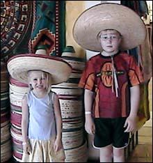 Kids in Playa del Carmen