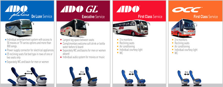 ADO Bus Types
