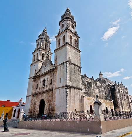 Campeche-church