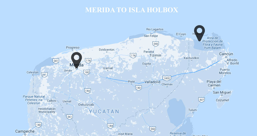 Getting To Holbox From Merida Travel Yucatan