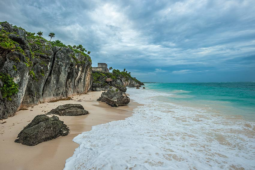 Tulum Ruins and the Beach
