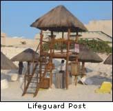 Cancun Beach Lifeguard