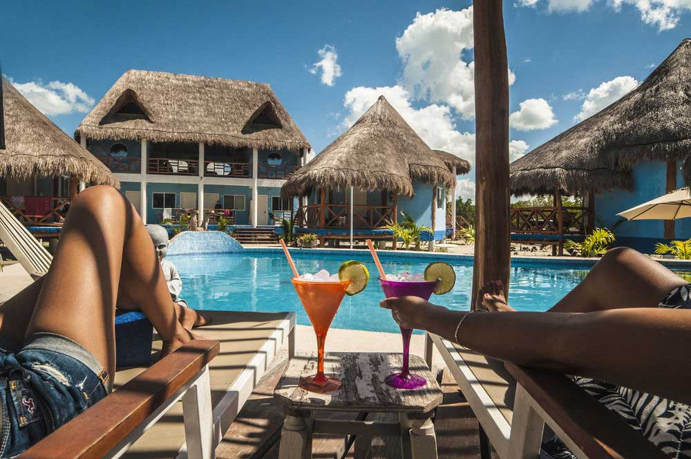 Holbox Hotels Moderate