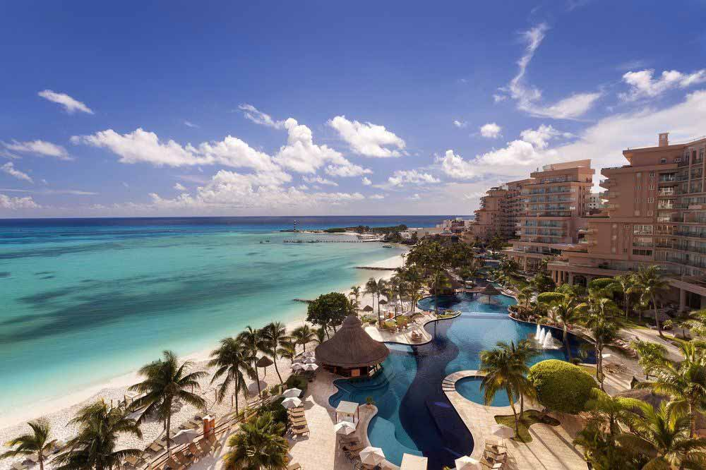 Grand Fiesta Americana Coral Beach top moderate hotel Cancun