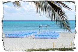 Playa del Carmen Wedding Reception