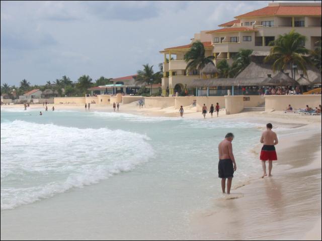 Playa Del Carmen Beach Pictures Travel Yucatan