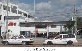 Tulum Mexico Bus Station