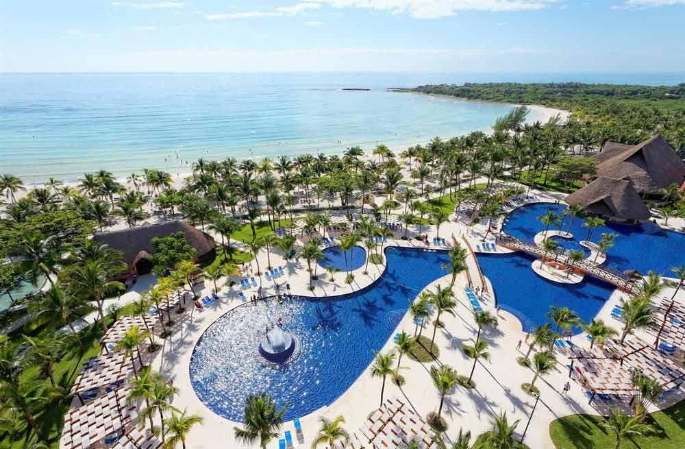Barcelo-Maya-Beach-Resort-Aerial-View