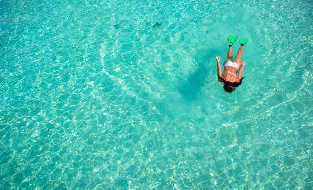 Snorkeling Puerto Morelos Mexico