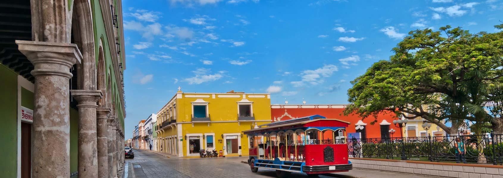 Yucatan Peninsula Campeche Mexico