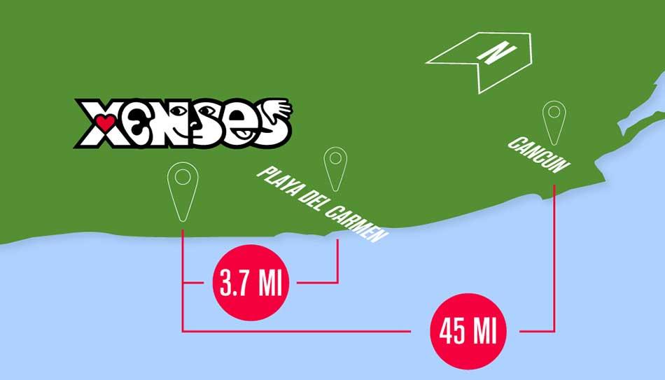 Xenses Location