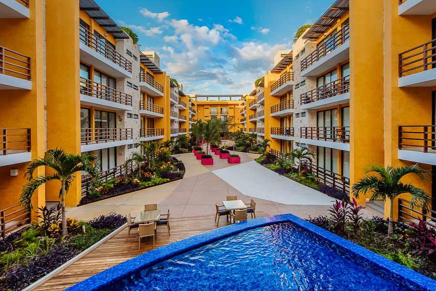 Happy Address Vacation Condo Rental in Playa del Carmen