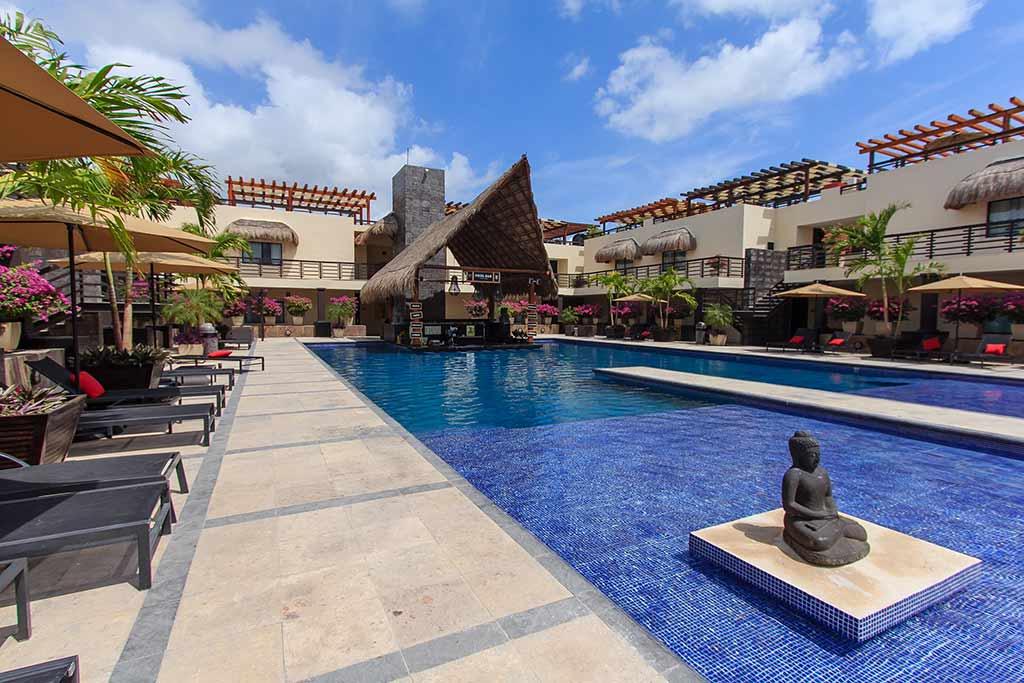 Aldea Thai rental Playa del Carmen by Moskito