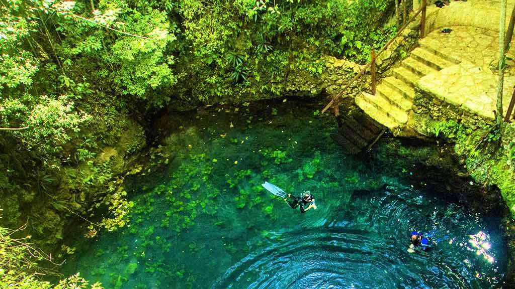 Cenote Zapote - Ruta de los Cenotes