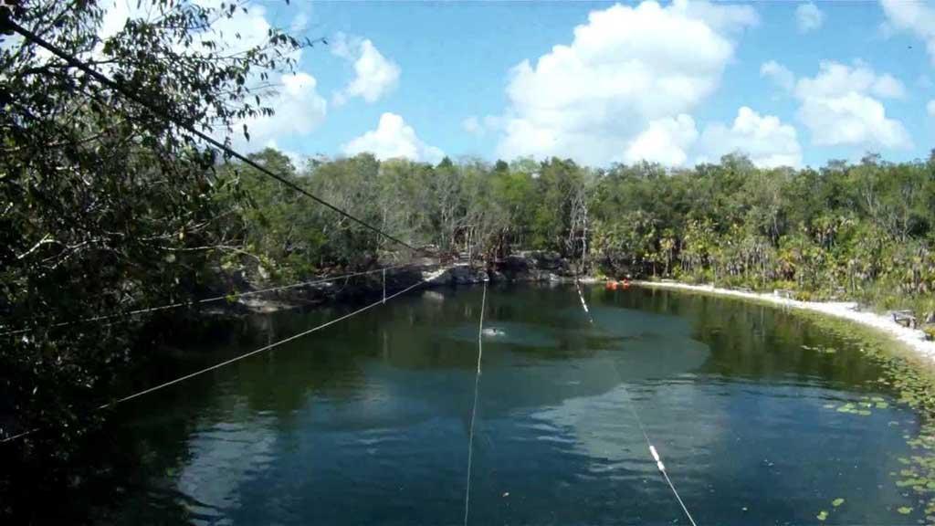Cenote las Mojarras - Ruta de los Cenotes