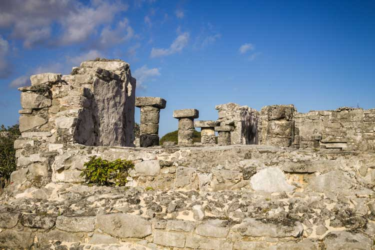 Ancient Mayan Tuins of Tulum Mexico