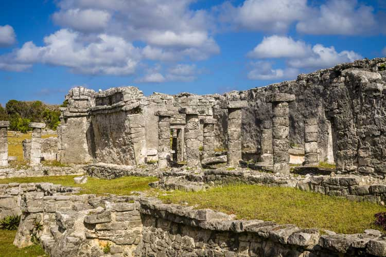 Tulum Mexico Ruins