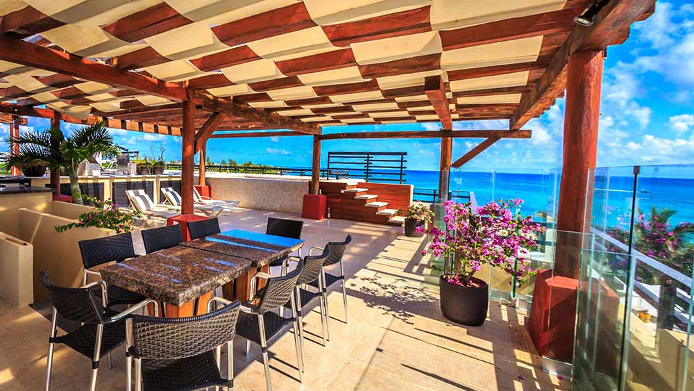 Luxury Vacation Rental Rooftop Terrace Playa del Carmen