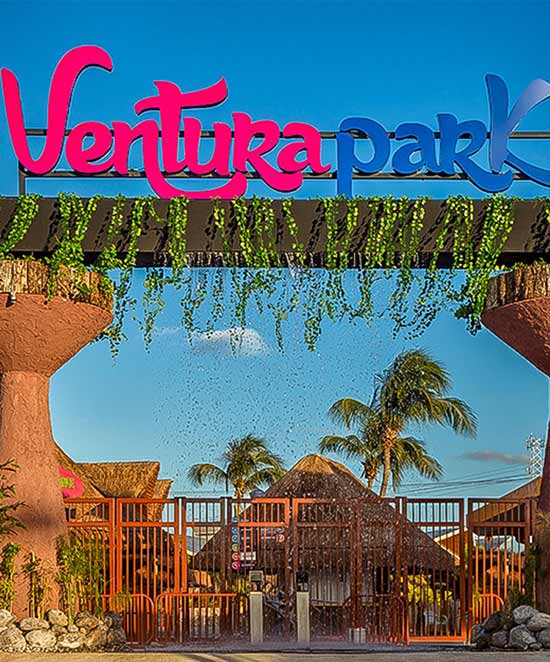 Ventura Park Cancun Entrance