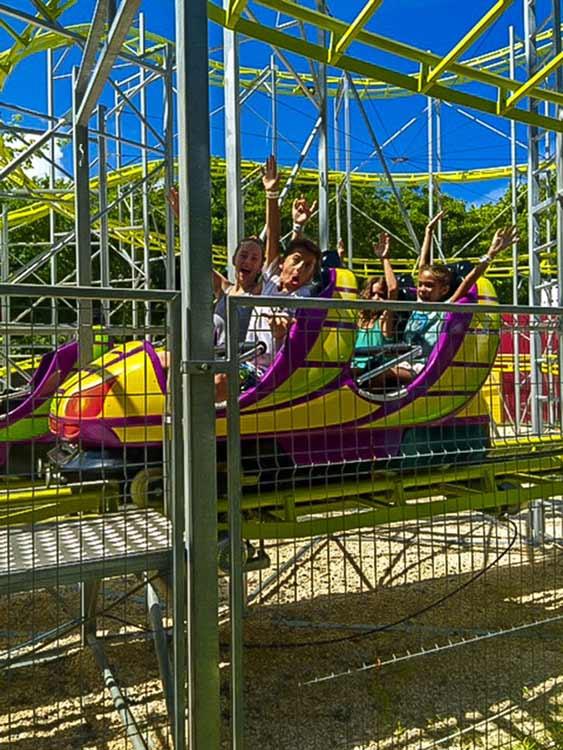 Ventura Park Cancun Roller Coaster