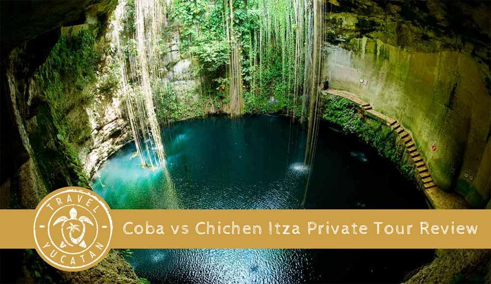 Coba vs Chichen Itza Tour