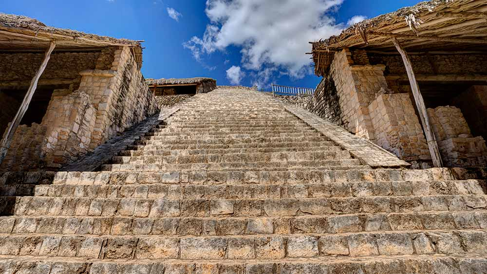 El Balam Mayan Ruins Mexico