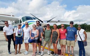 Private Chichen Itza airplane tour