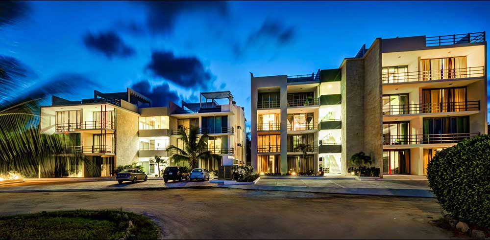 Acacia affordable condo for sale Playa del Carmen